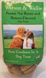 Peanut Butter & Banana Flavored Crunchy Dog Treat
