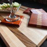 Handmade local cutting boards