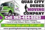 Quad Cities Dudes Moving Company